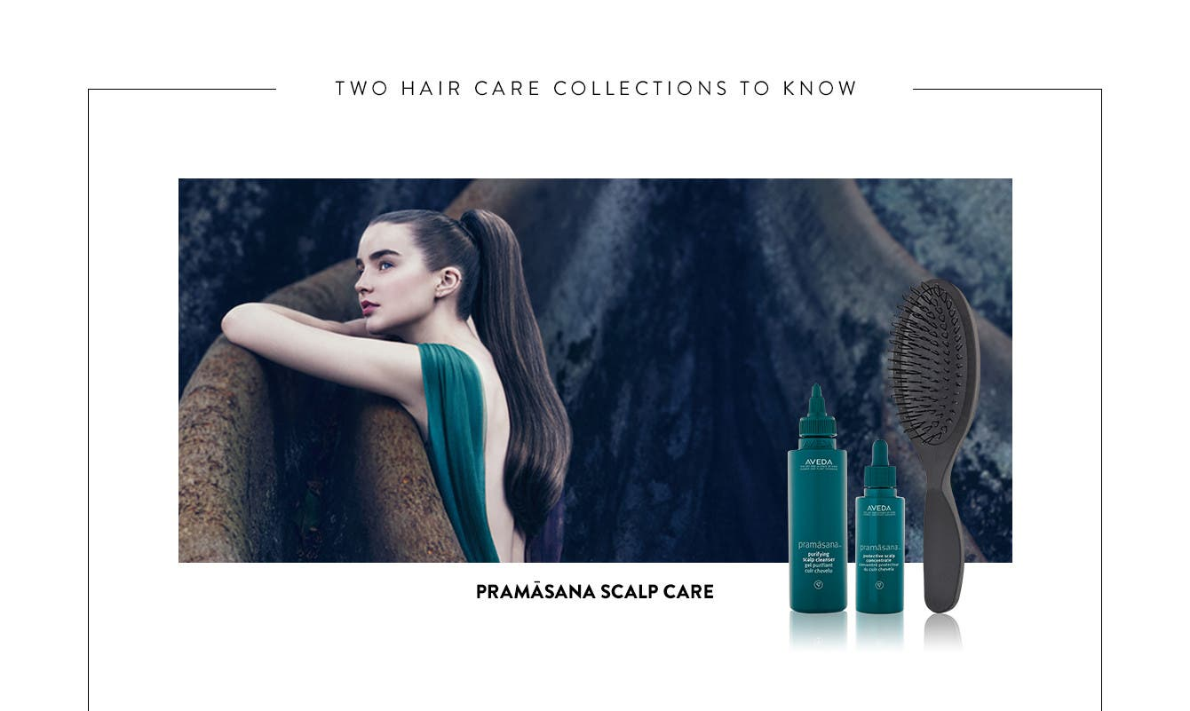 Pramāsana scalp care.