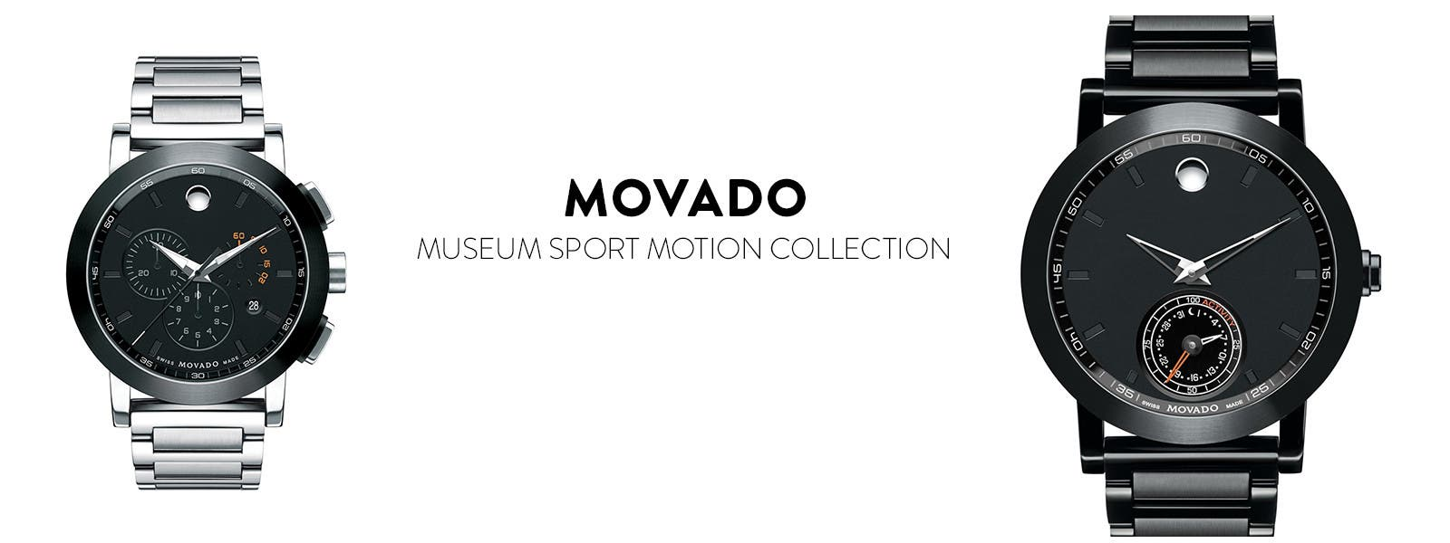 Movado Museum Sport smart watches.