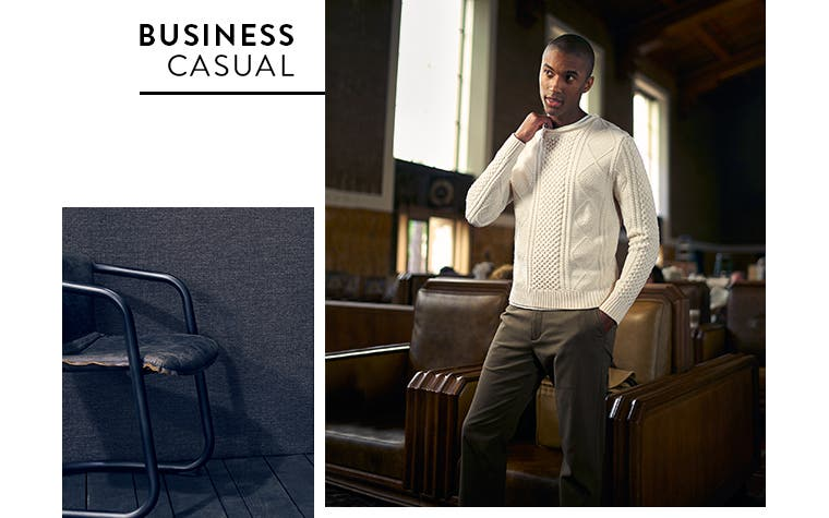 Business casual from Nordstrom Men's Shop.