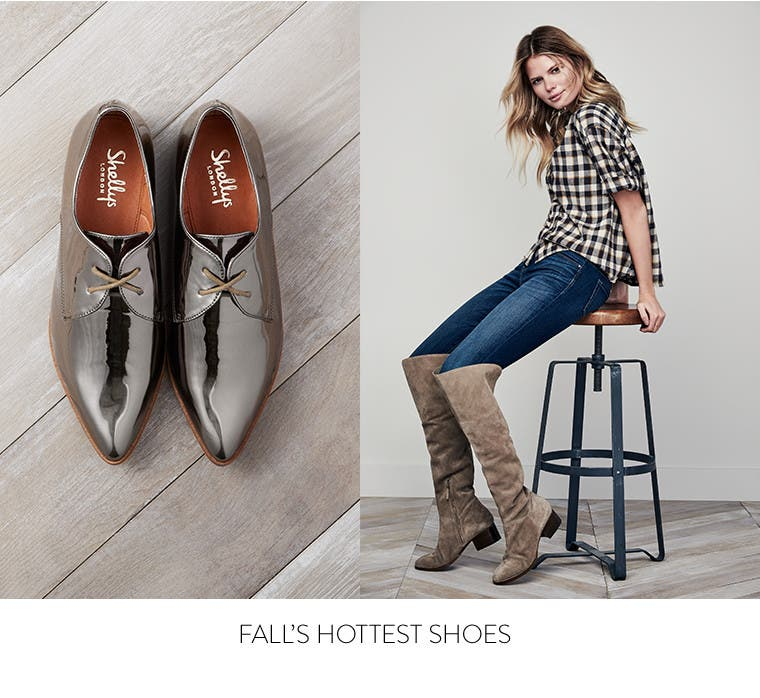 Fall's hottest shoes.