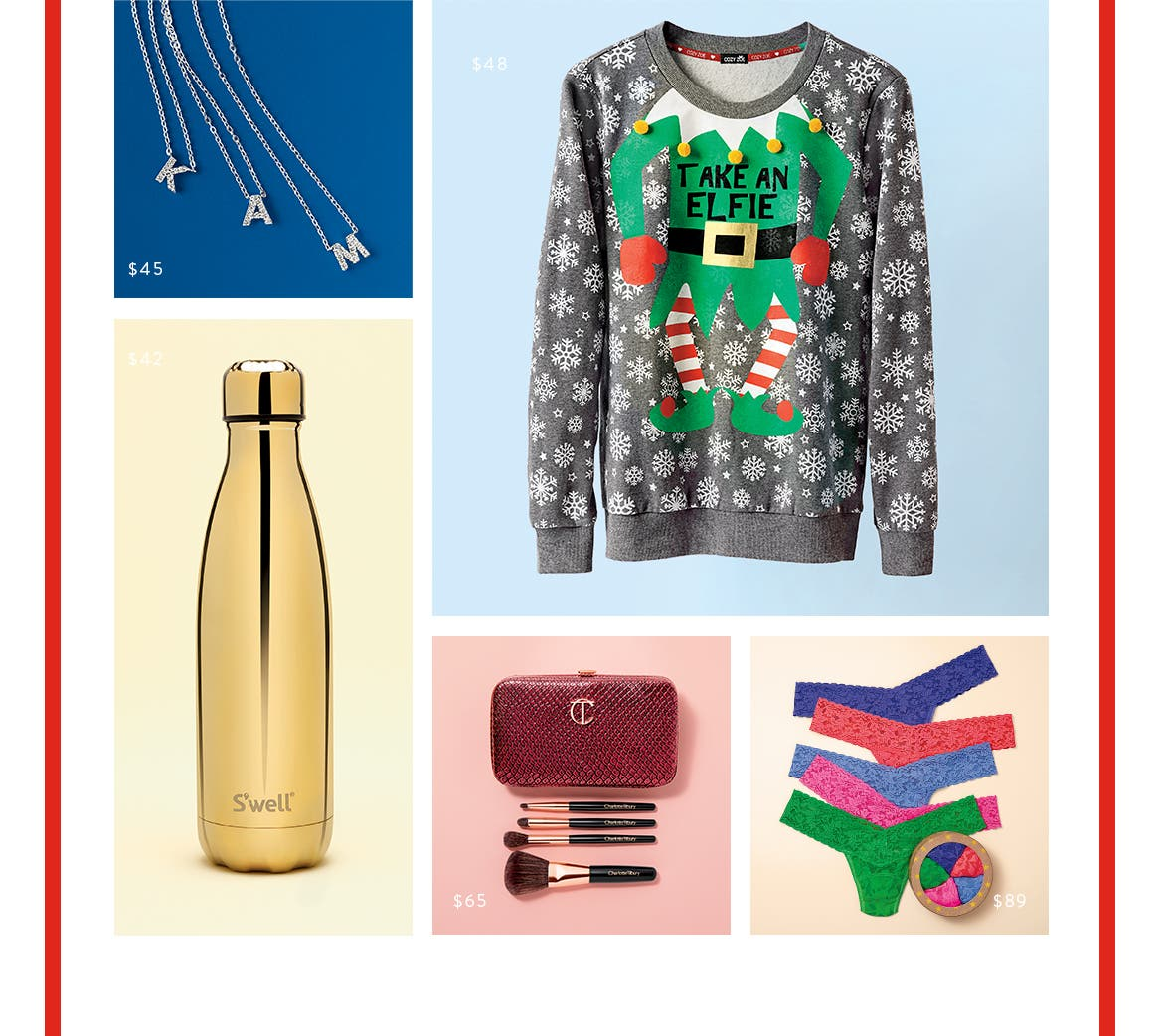 So many gifts, including selected styles under $100.