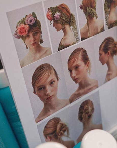 Moroccanoil and M·A·C at Marchesa