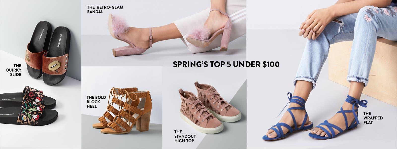 Spring's top 5 under $100.