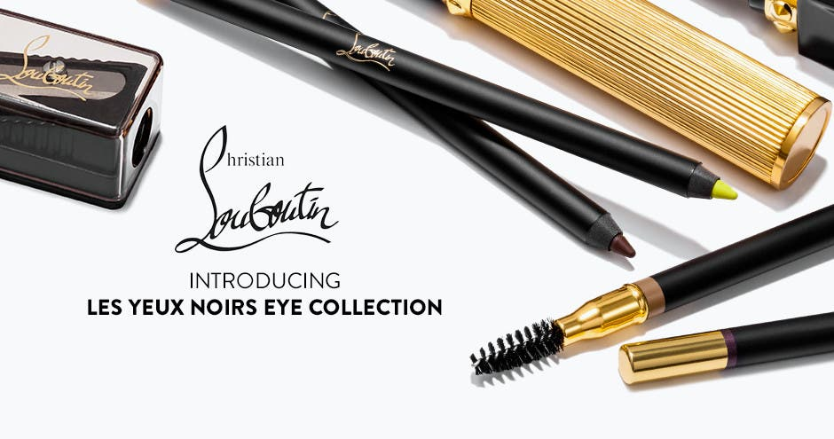 Christian Louboutin. Introducing Les Yeux Noirs eye collection.