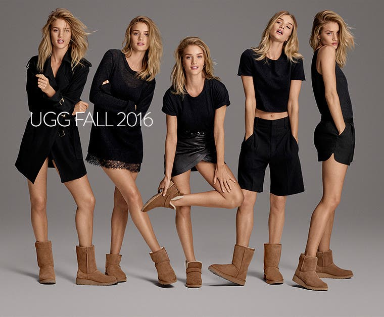 UGG Fall 2016: the Classic collection.