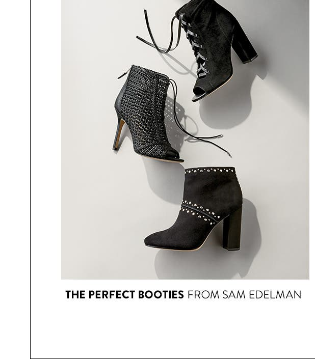 The perfect booties from Sam Edelman.