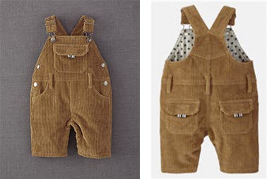 MINI BODEN DUNGAREES