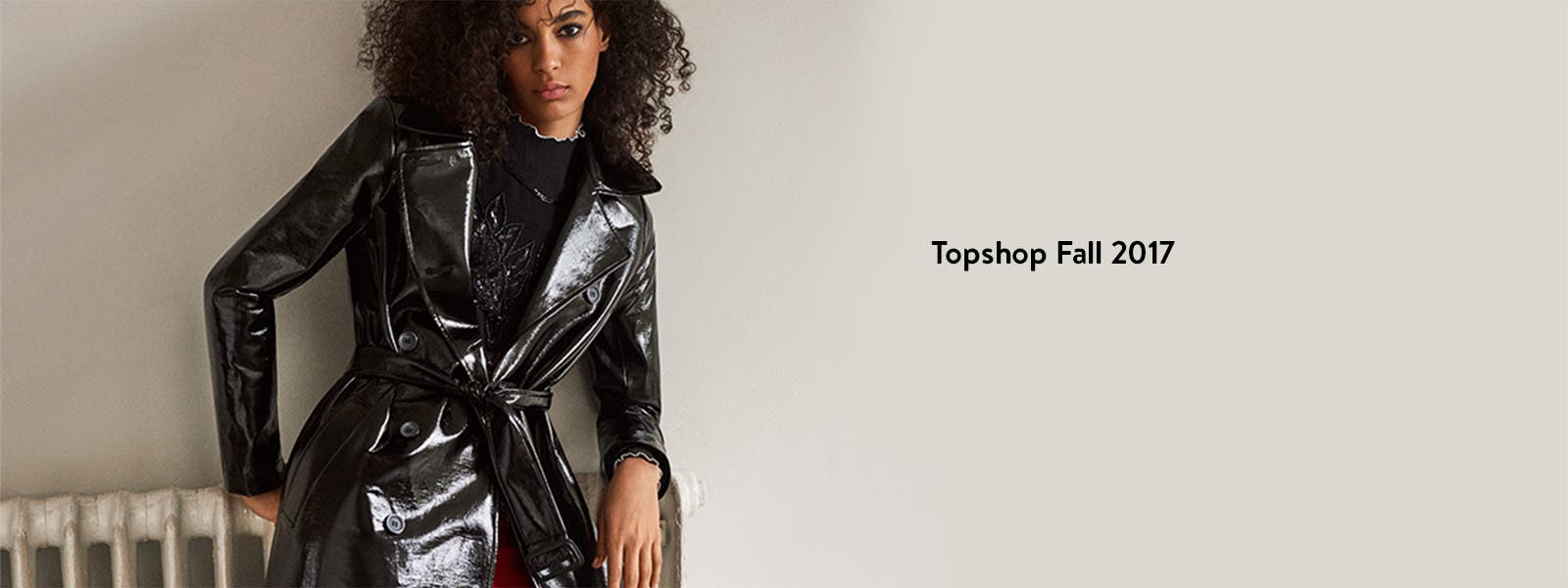 Topshop Fall 2017 clothing.