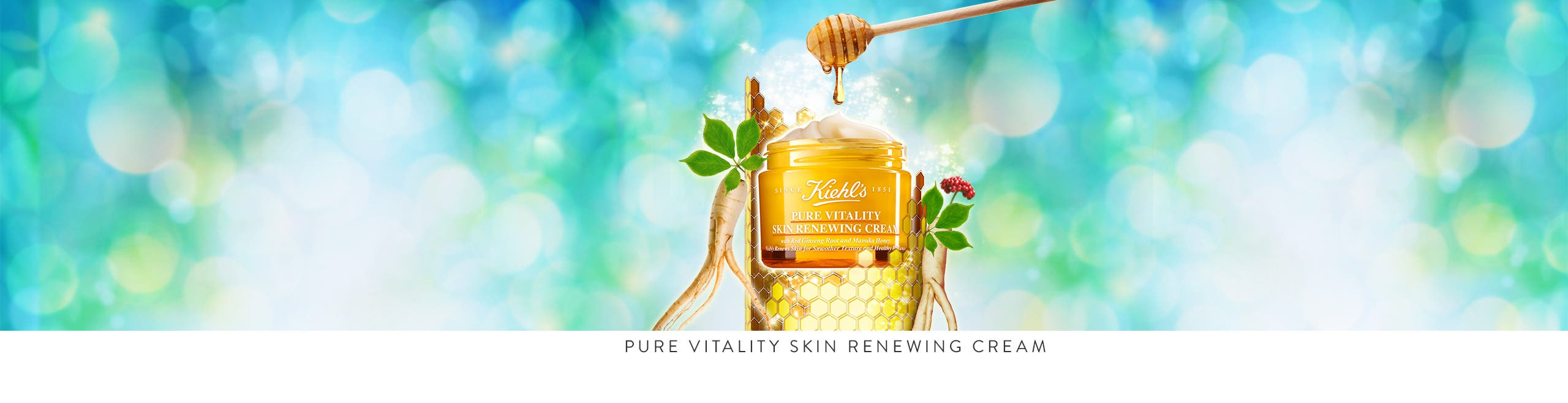 Kiehl's Pure Vitality Skin Renewing Cream.