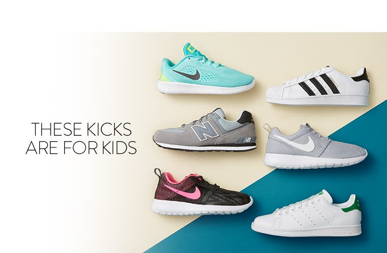 These kicks are for kids.