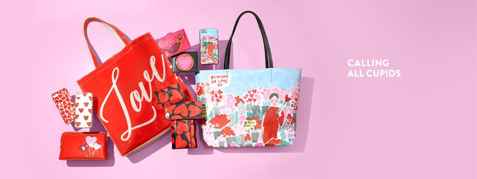 Calling all cupids: women's handbag gifts.