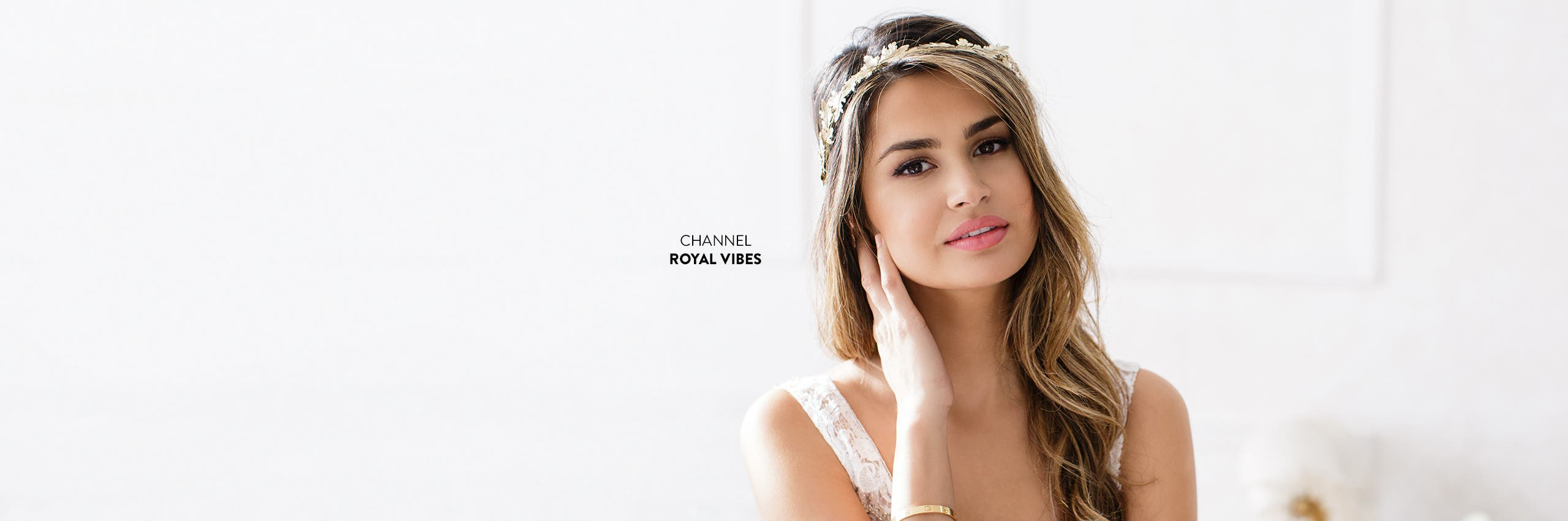 Wedding crowns and other accessories for channeling royal vibes.