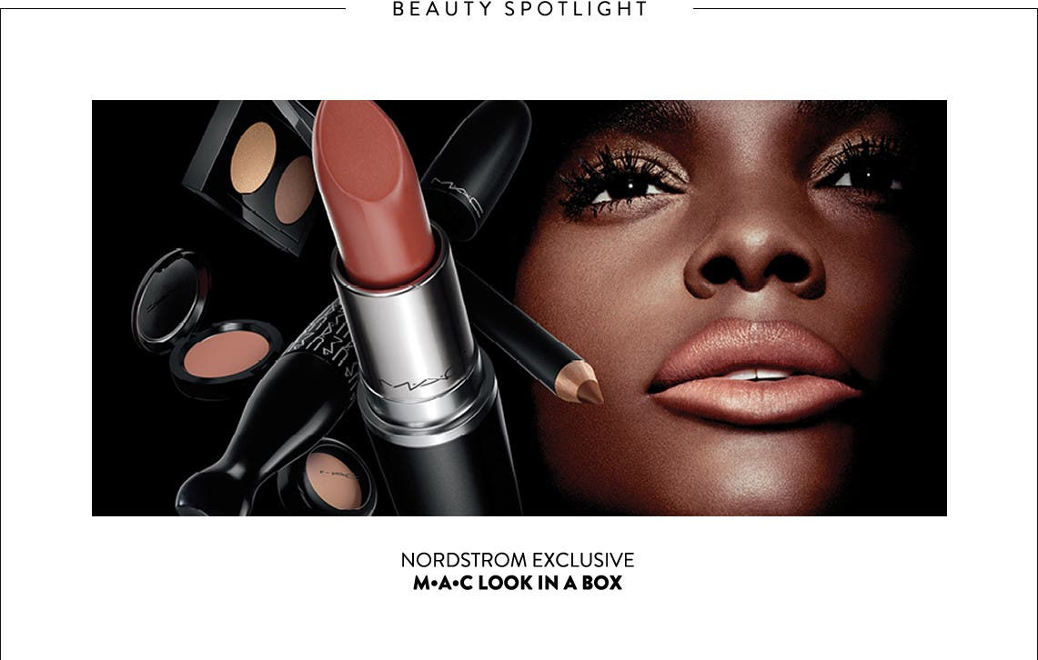 MAC Look in a Box makeup, exclusively at Nordstrom.
