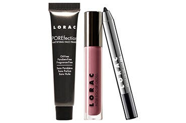 LORAC gift with purchase.