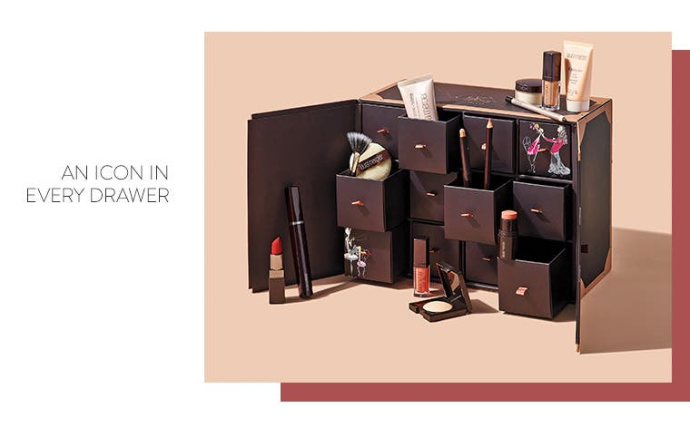 Laura Mercier: an icon in every drawer.