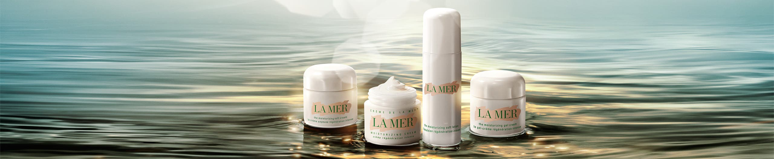 Endless transformation: La Mer moisturizer collection.