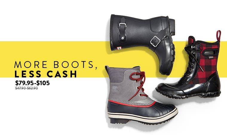 Anniversary Sale: kids' boots.