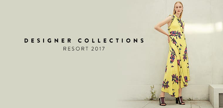 Resort 2017 designer collections. Proenza Schouler and more.