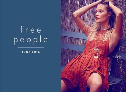 Free People June 2016.