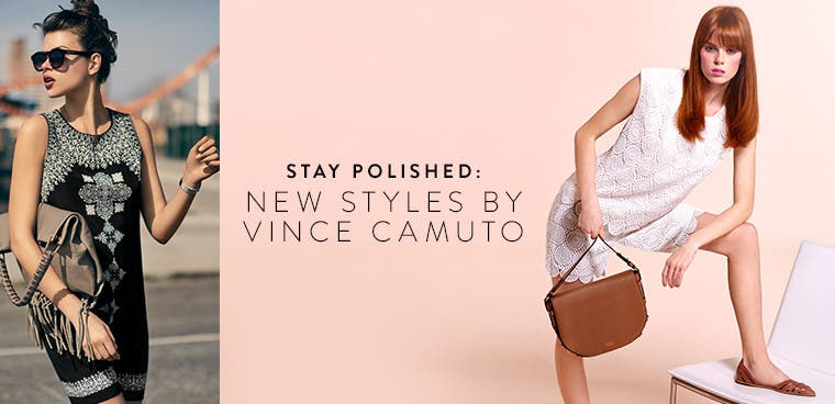 Stay polished in new styles by Vince Camuto.
