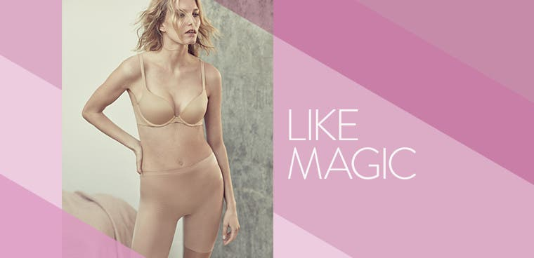 Like magic: summer shapewear.