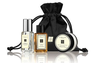 Receive a free 4-piece bonus gift with your $130 Jo Malone purchase