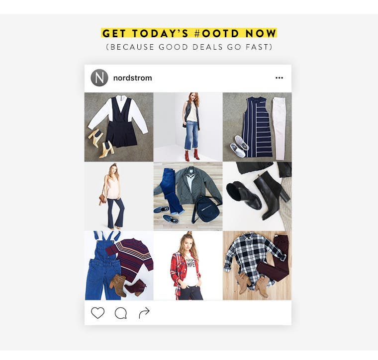 Women's trend outfits as seen on Instagram.