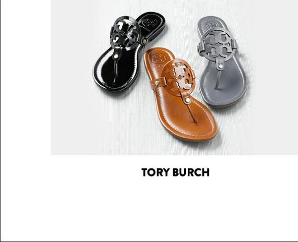 Tory Burch: the Miller sandal. Shop sandals.
