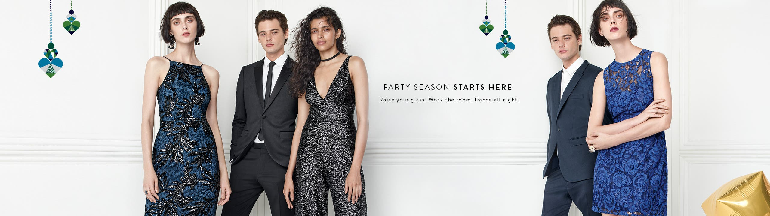 Party season starts here.