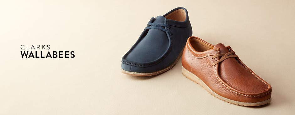 Clarks Wallabees.