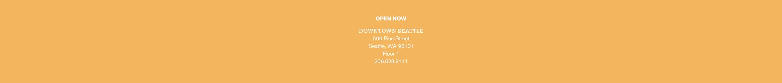 The Nordstrom Welcomes Hermès shop is open now at our Downtown Seattle store, on floor 1.
