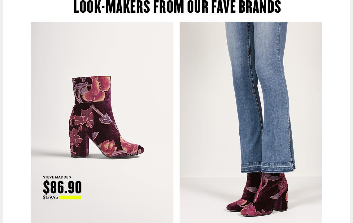 Steve Madden shoes at Anniversary Sale.