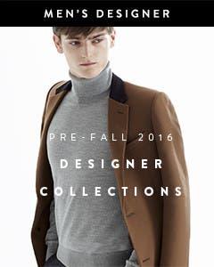 Pre-fall 2016 men's designer collections.