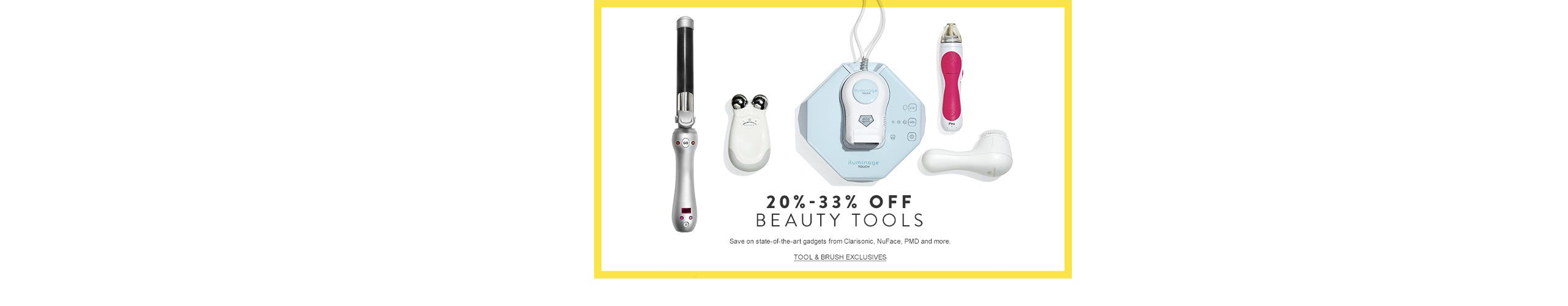 Anniversary Sale beauty exclusives: 20%-33% off beauty tools.