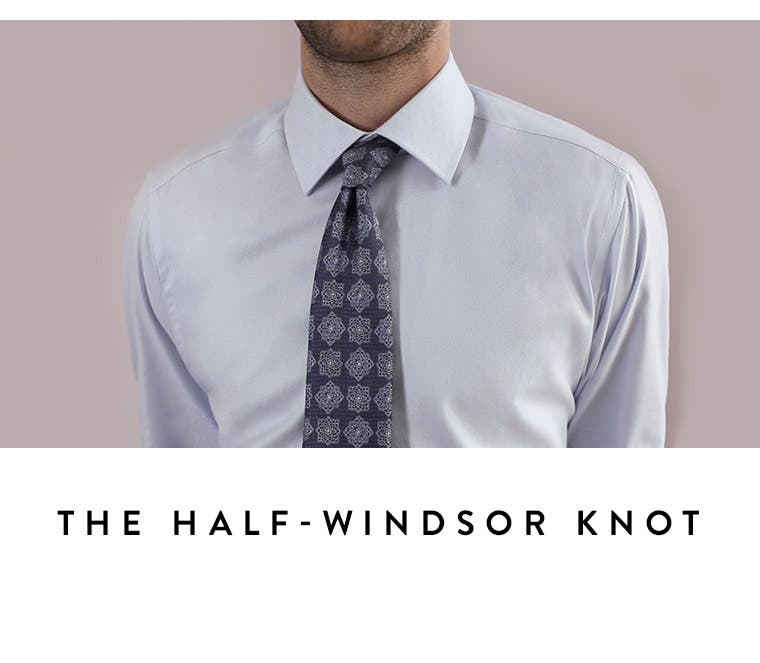 Video: The half-Windsor knot. Men's video on how to tie a tie.