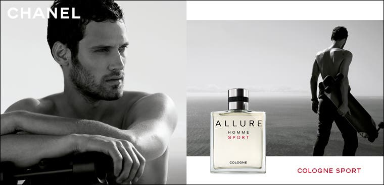 New: Chanel Allure Homme Sport cologne.