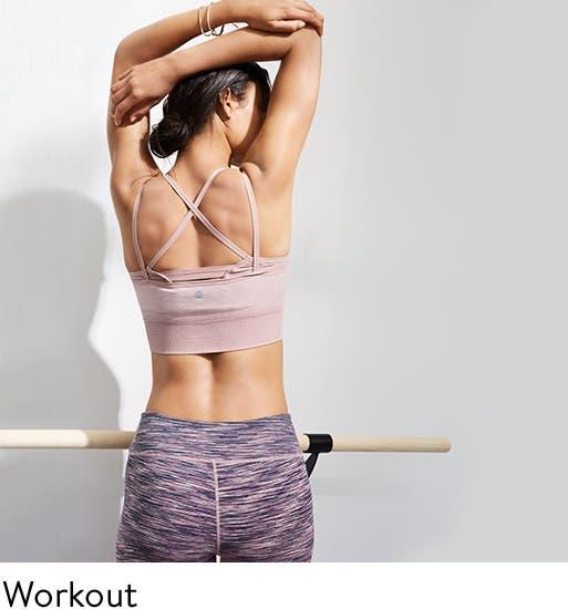 Women's workout wear.