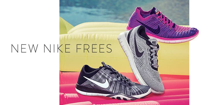 New Nike Free running shoes for women.