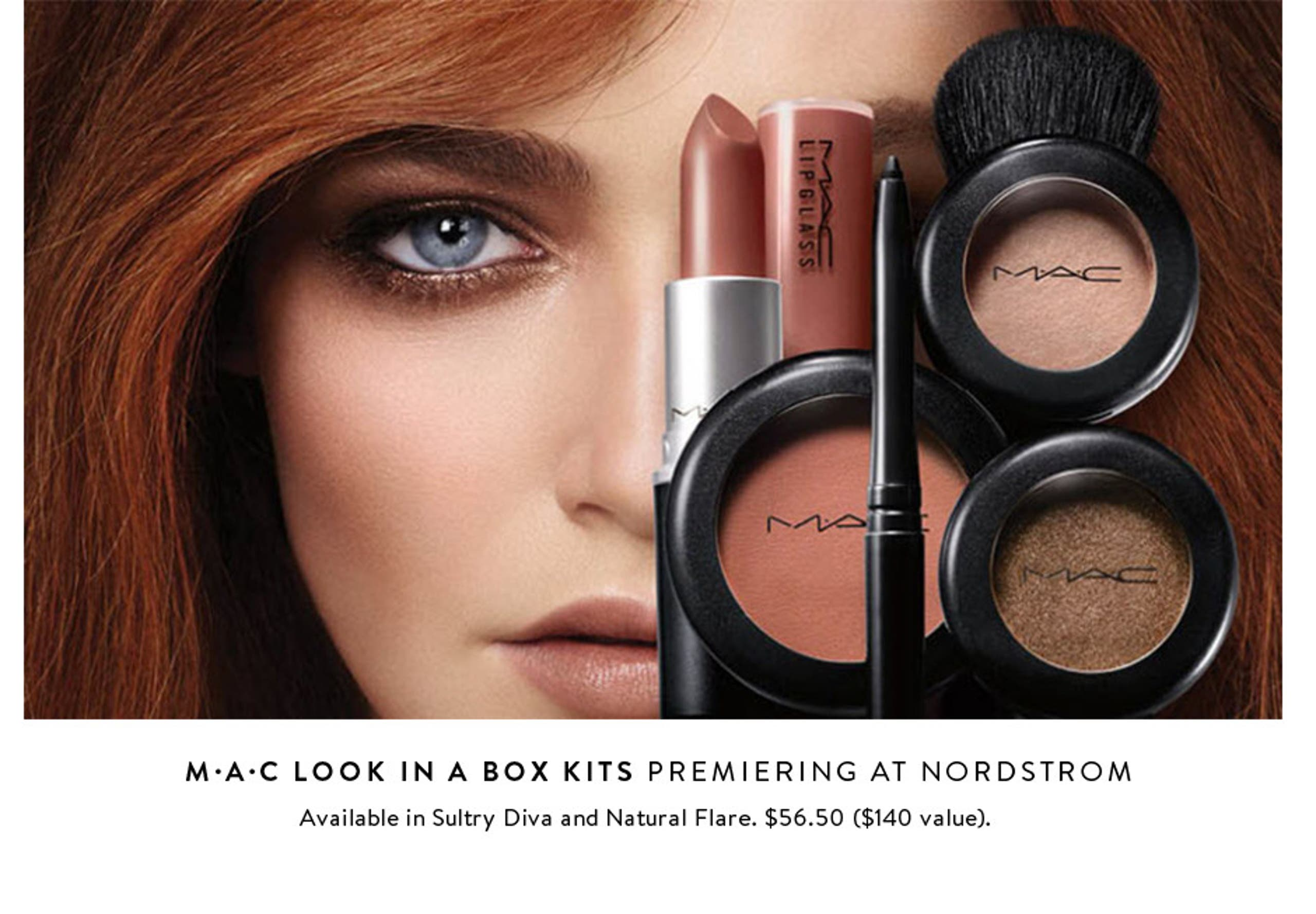 Premiering at Nordstrom: M·A·C Look In A Box Kits.