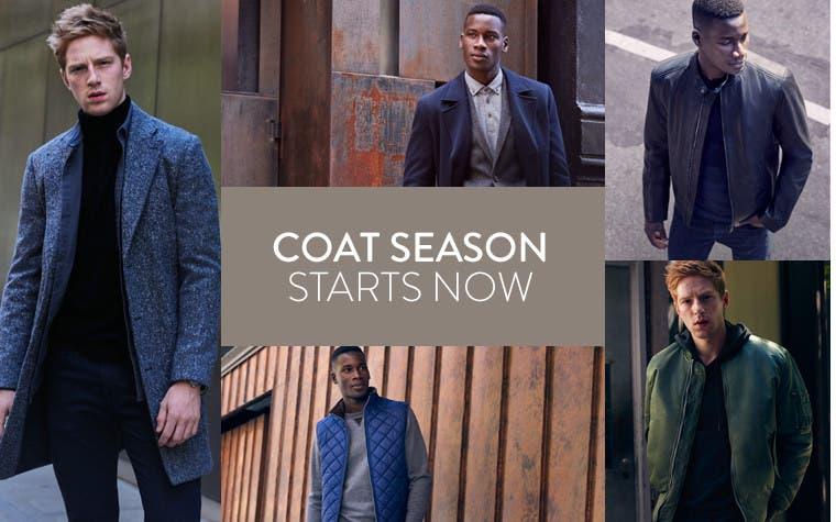 Fall 2016 coat season starts now.