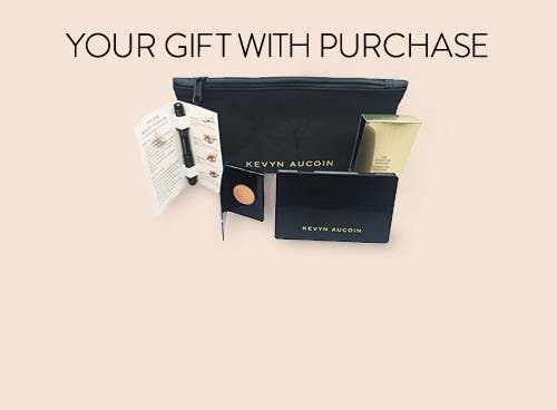Kevyn Aucoin gift with purchase.