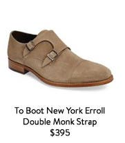 To Boot New York Erroll Double Monk Strap.