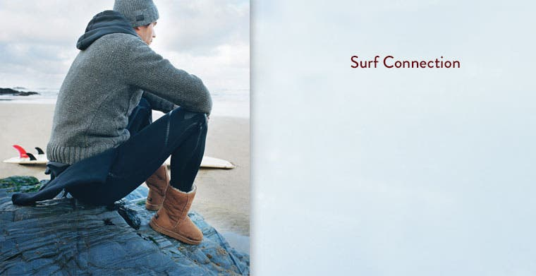 The History of UGG Australia: Surf Connection
