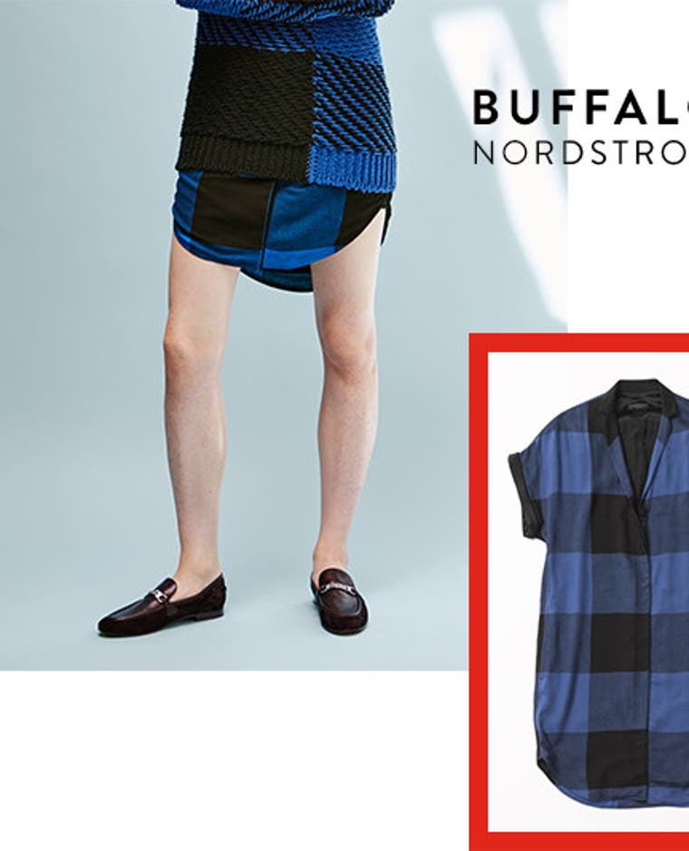 Buffalo checks, including a Nordstrom-exclusive sweater.