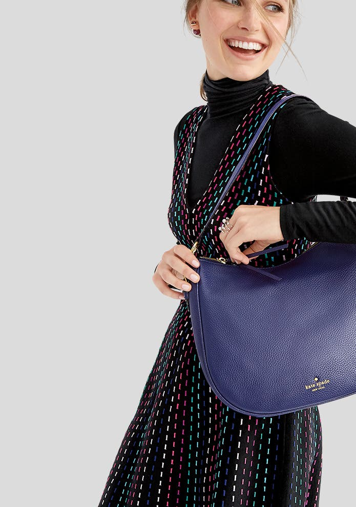 Give handbags.