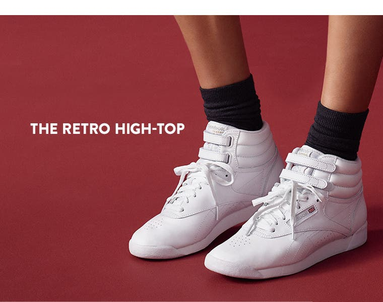 The retro high-top.