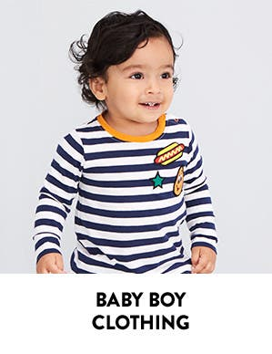 Baby boy clothing.