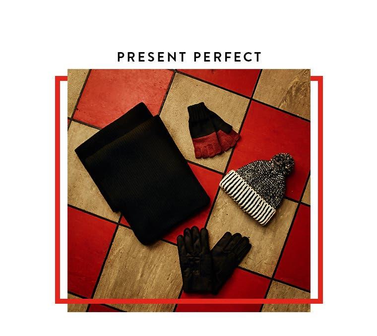 Present perfect.