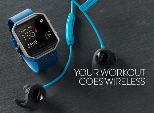 Your workout goes wireless.