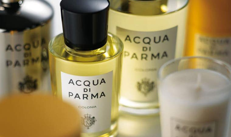 Acqua di Parma women's, men's and home fragrances.